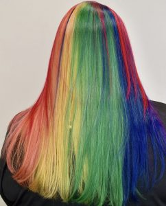 Rainbow Hair Dye - Vivid Color