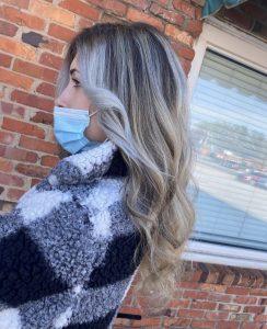 Blonde balayage by Artisan Hair in Cary, NC
