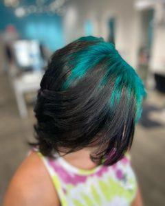 Billie Eilish hair roots Cary NC